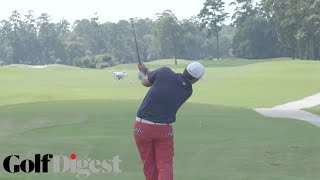 Patrick Reed Tries to Knock A Drone Out Of The Sky with a Golf Ball | Golf Assassins | Golf Digest