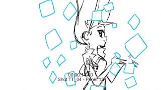 LOLIROCK - Talia's transformation storyboard