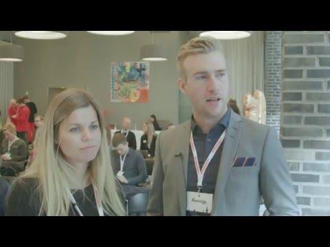 David Engstrøm og Camilla Wilfert - Mynewsday København 2015
