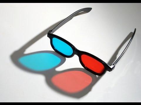 كيف تصنع نظارات ثلاثيه الابعاد بنفسك ?
