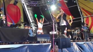 Bryan Wilson & Sebastian Crayn - Ra pa pam Live in Brazilian Day Portugal 2013