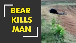 Bear claims life of a man in Odisha