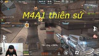 [ Bình Luận CF Legends ] M4A1-Angel - Tiền Zombie v4