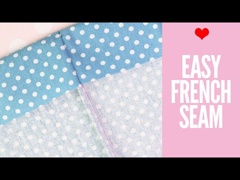 How to Sew a French Seam | EASY