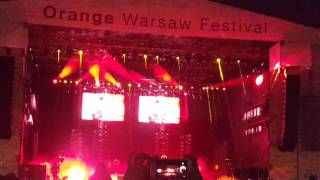 Kings of Leon - Closer - Live Orange Warsaw Festival 2017