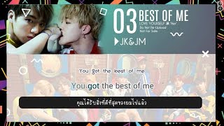 [Karaoke-Thaisub] Best Of Me - BTS(방탄소년단)