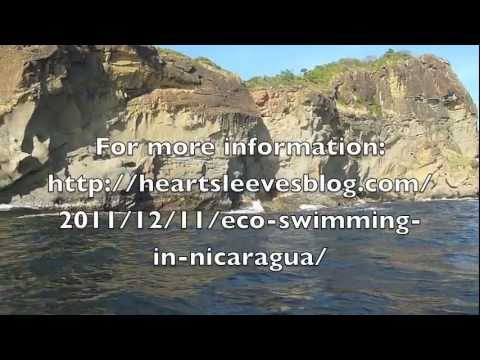 Eco-swimming in Nicaragua