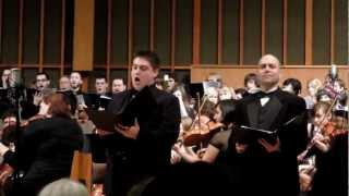 Beethoven's 9th Symphony Tenor Solo