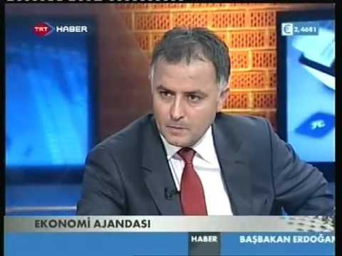 EMİN AKSOY,EKONOMİ AJANDASI,TRT HABER,11 EYLÜL 2011