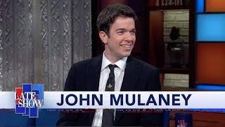 John Mulaney And Stephen Colbert Explore Each Other's Deepest Anxieties