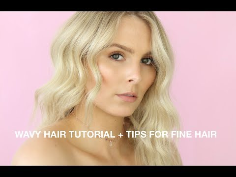 MY SIGNATURE WAVY HAIR TUTORIAL + BEST TIPS FOR THIN, FINE HAIR | RACHAEL BROOK