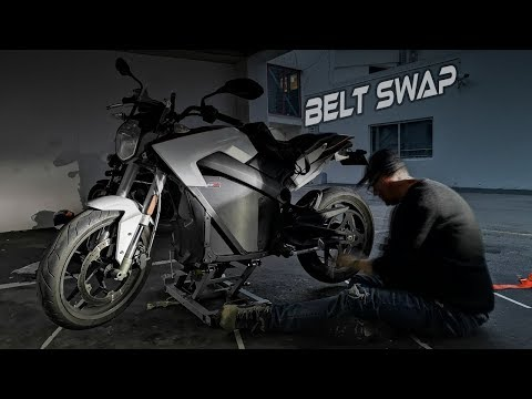 How To: Replace Your Zero Motorcycle Belt