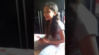 Minha princesa canta muitoooo. Canta pra Deus ❤😍
