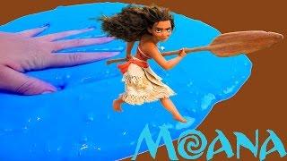 Mega Amoeba da MOANA Um Mar de Aventuras! como fazer amoeba da moana