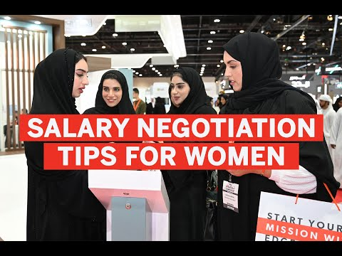 Tips for women negotiating their salaries during job interview
