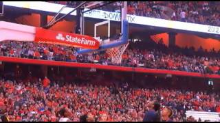 Orange Madness 2012 from the Carrier Dome