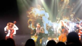 Apocalyptica - Hole in My Soul (AB Brussels)