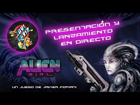 Presentación de Alien Girl (Javier Fopiani & Laura Gonz)