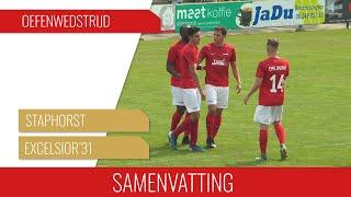 Screenshot van video Samenvatting Staphorst - Excelsior'31
