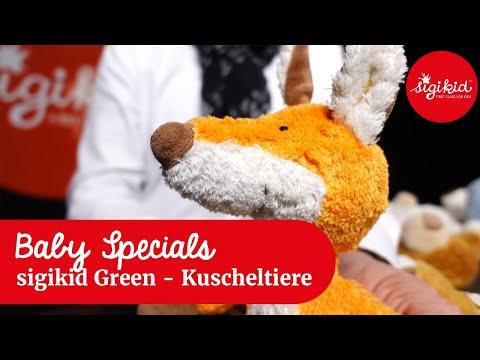 sigikid Green: neue Kuscheltiere