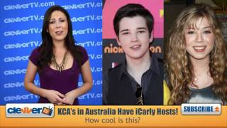 Jennette McCurdy & Nathan Kress -- 2011 Kids' Choice Awards Australia Hosts
