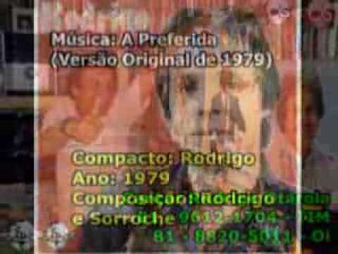 A Preferida de Rodrigo Letra y Video