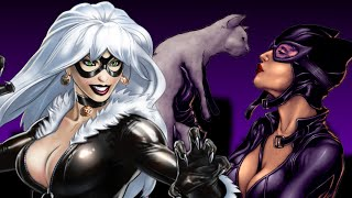 Black Cat VS Catwoman - Comic Book Rap Battles - Vol. 1, Issue 13