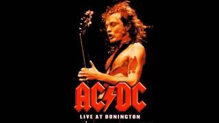 AC/DC TNT Live Backingtrack of guitar