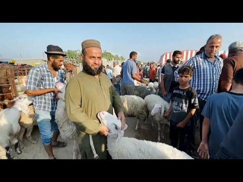 Faixa de Gaza prepara Festival do Sacrifício