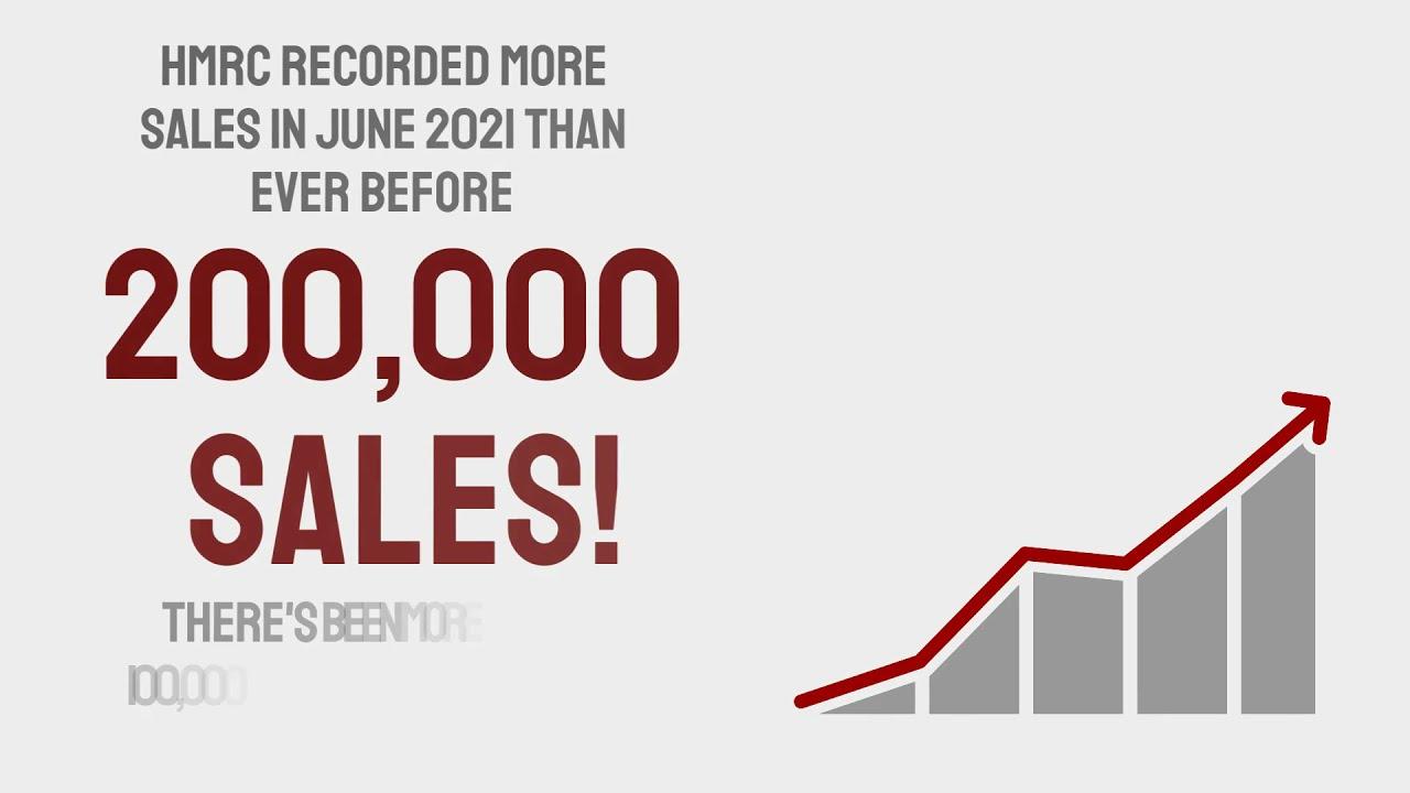 Record sales in June 2021!