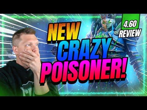 4.60 REVIEW! NEW Champ INSANE Poisoner! | RAID Shadow Legends