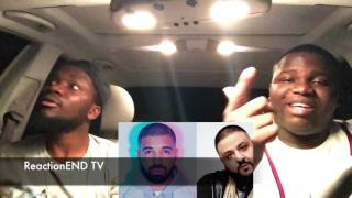 Dj Khaled FT Drake - For Free (REACTION)