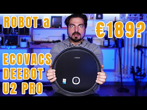 ECOVACS Deebot U2 Pro costa solo €189  …