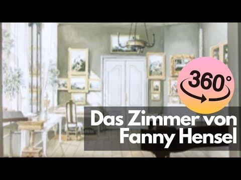 360° Das Zimmer von Fanny Hensel im Mendelssohn-Haus Leipzig