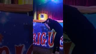 Milene Pavoro do programa do ratinho em iporá GO no circo Hermanos Rodrigues