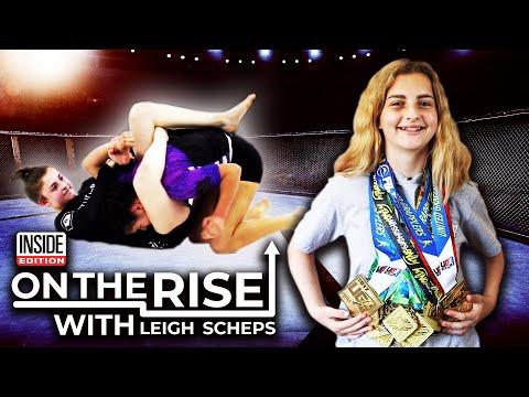 14-Year-Old Jiu-Jitsu Prodigy Determined to Be World Champion
