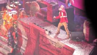 Iron maiden the trooper. live Manchester 2017