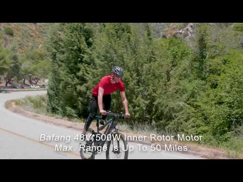 HITHOT 1 Platinum Electric Mountain Bike -- Electric Bike from Addmotor