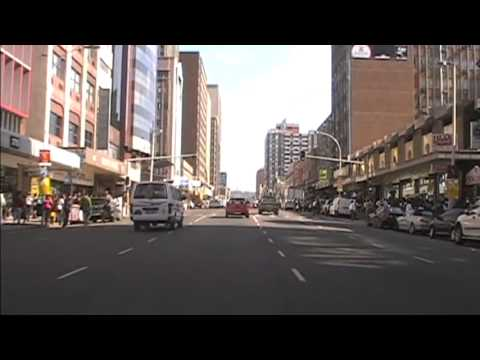 South Africa.Durban streets