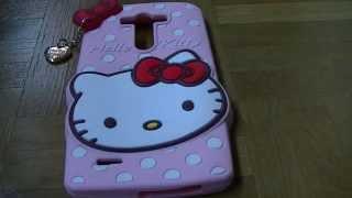 Funda/Carcasa/case/cover de Hello Kitty LGG3. Unboxing,desempaquetado,análisis,review. Español