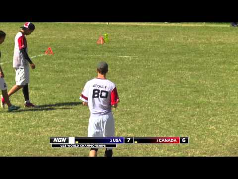 Video Thumbnail: 2013 WFDF World U-23 Championships, Mixed Gold Medal Game: USA vs. Canada