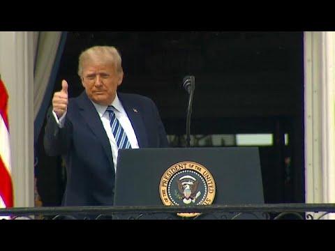 """Trump: """"Soy inmune a la COVID-19"""""""