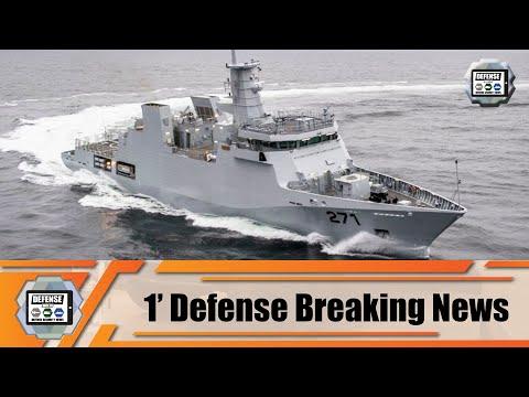 Pakistan Navy inducts Damen-built Newest corvette PNS Yarmook Naval Defense Breaking News