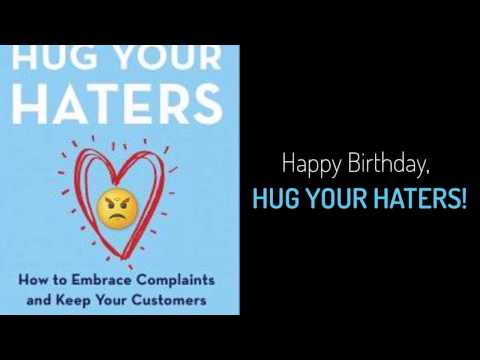 Happy birthday, Hug Your Haters!