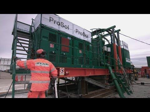 ProSol – Stabilisering och solidifiering, Arendal II Göteborgs Hamn