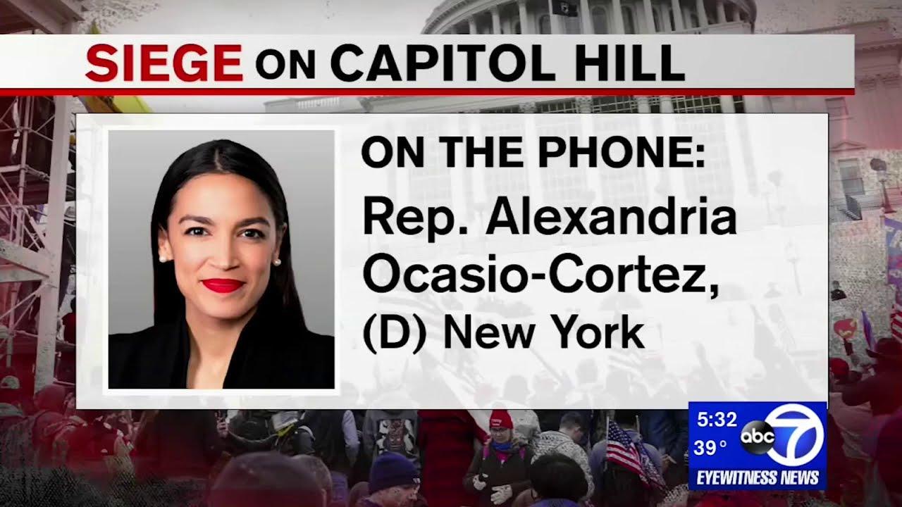 Alexandria Ocasio-Cortez - Impeachment has Overwhelming Support   Alexandria Ocasio-Cortez
