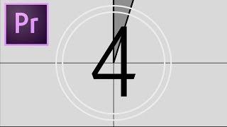 Cara Membuat Efek Hitung Mundur / Countdown #Tutorial #UnuversalCountingLeader #PremierePro