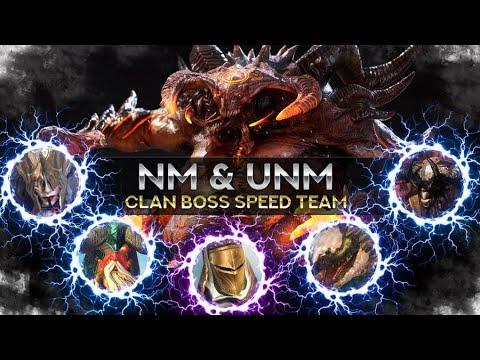 Ultimate Clan Boss Speed Comp + Advanced Tips I Raid Shadow Legends