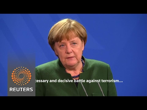 Merkel says U.S. travel ban not justified by terror fight