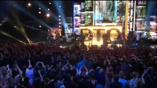 BTO Live at 2014 Junos